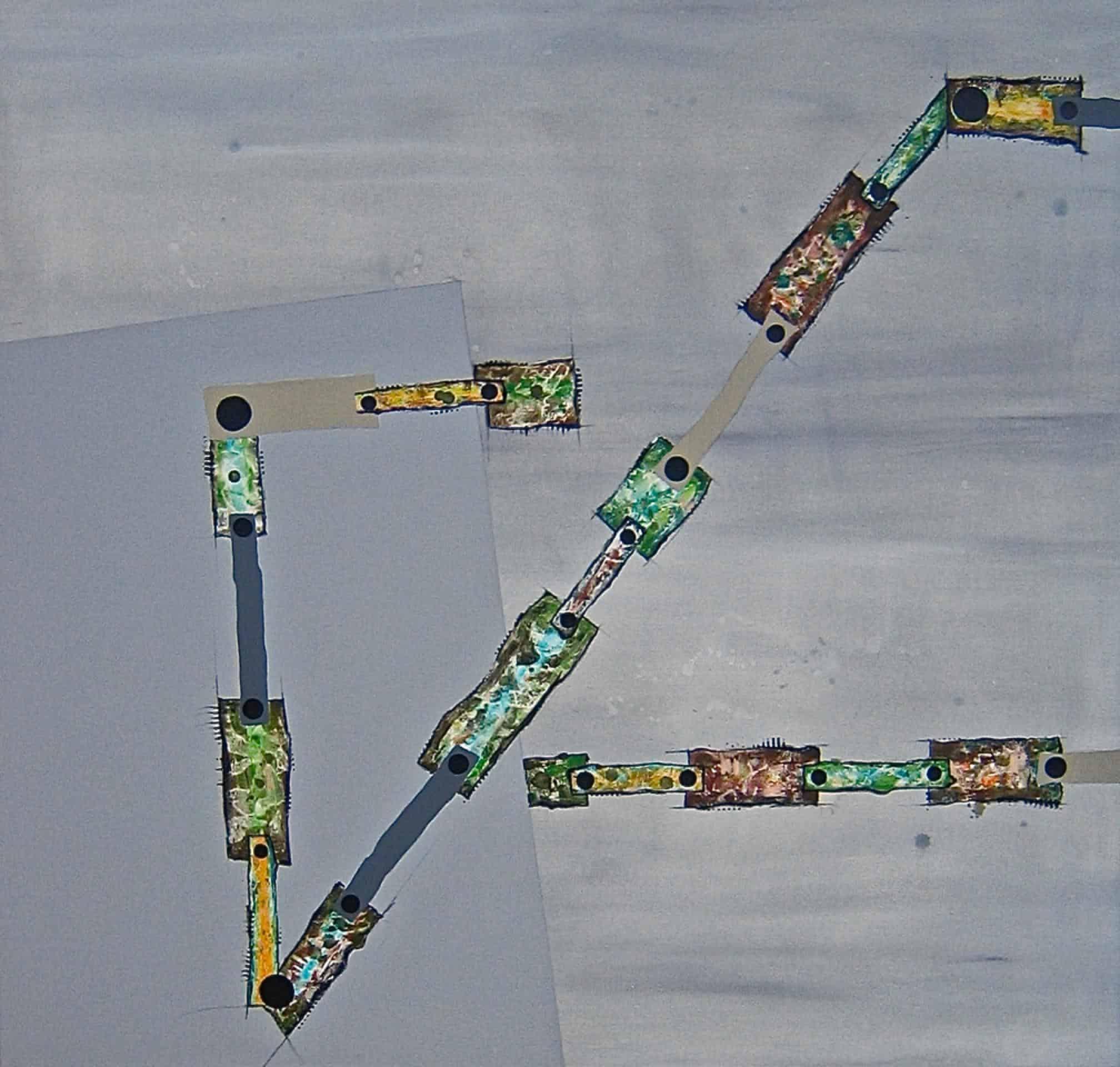 Antje Schroeder, Schleichweg mit schwarzem Punkt